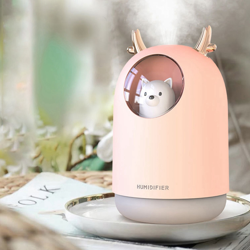 Cute Air Humidifier Oil Diffuser Aromatherapy Household
