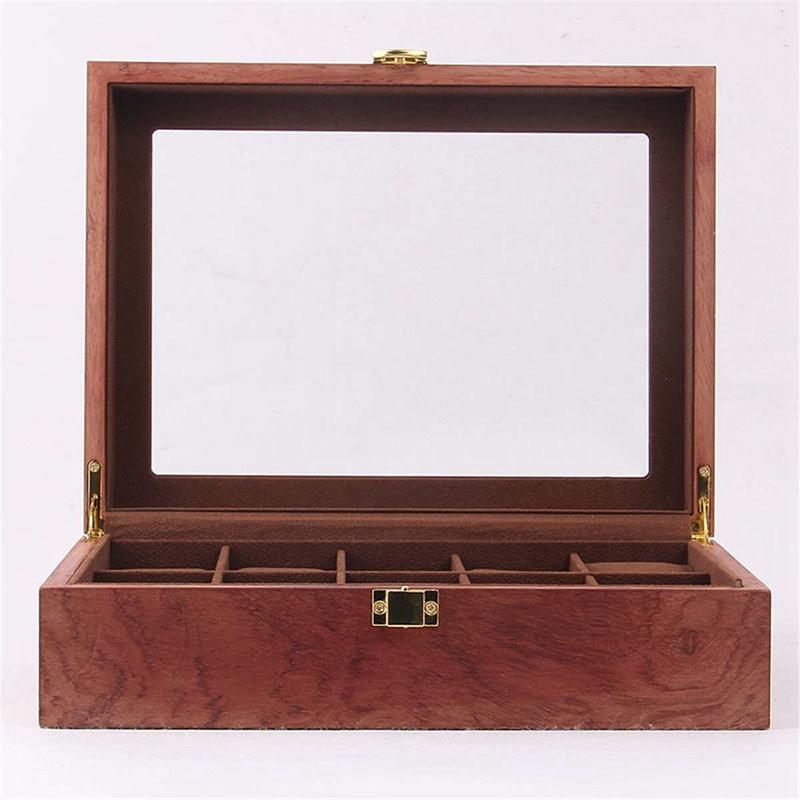 ReTro-Montre-en-Bois-Vitrine-D-039-Emballage-Durable-Titulaire-Collection-de-Bi-B4O6 miniature 16