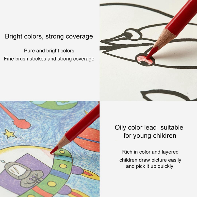 24Colors-Set-Xiaomiyoupin-Colorful-Pencil-Water-Soluble-24-Color-Suitable-f-D5Y6 thumbnail 10