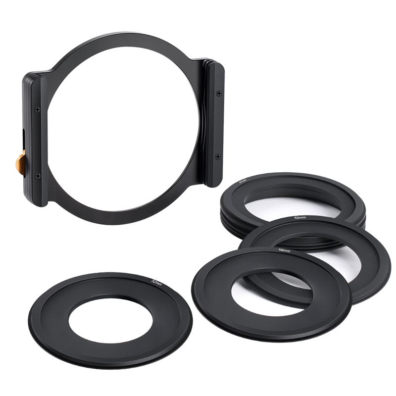 K-amp-F-Concept-Square-Filter-Holder-with-7Pcs-Filter-Ring-Adapters-Compatible-V3Q4 thumbnail 2