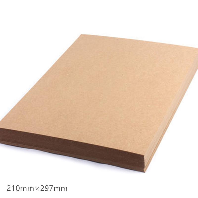 A4-Papel-Kraft-MarroN-Tarjeta-Hecha-una-Mano-DIY-CartoN-Grueso-de-Papel-X9V2 miniatura 3