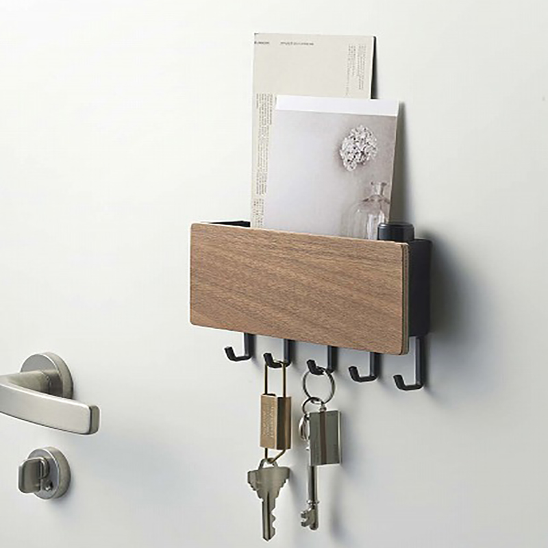 1X-Key-Hanger-Decorative-Simple-Small-Wall-Hook-Space-Saving-Easy-Install-HU4H3 thumbnail 5