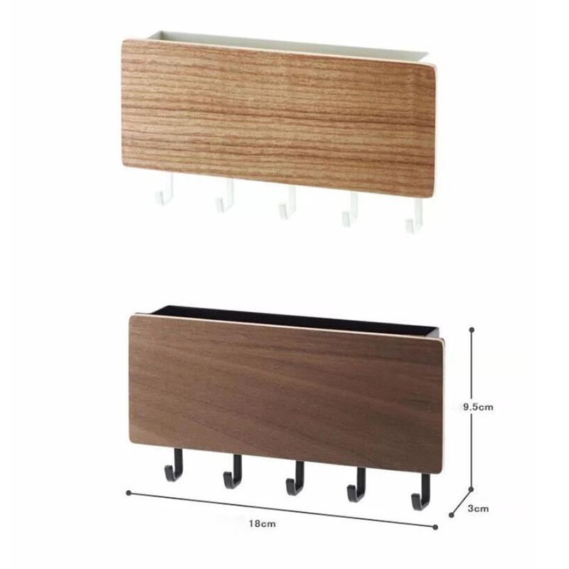 1X-Key-Hanger-Decorative-Simple-Small-Wall-Hook-Space-Saving-Easy-Install-HU4H3 thumbnail 7