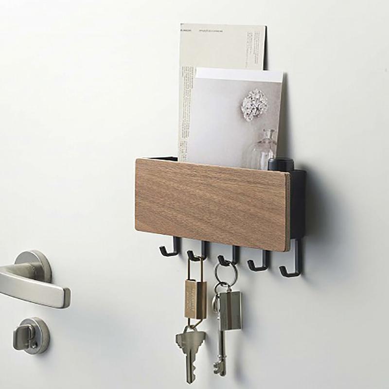 1X-Key-Hanger-Decorative-Simple-Small-Wall-Hook-Space-Saving-Easy-Install-HU4H3 thumbnail 12