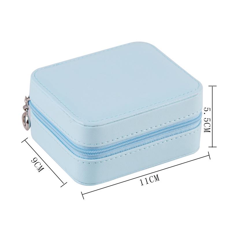 Caja-de-Almacenamiento-de-Joyas-de-PU-de-una-Sola-Capa-de-Cuero-Pendientes-Q3M9 miniatura 4