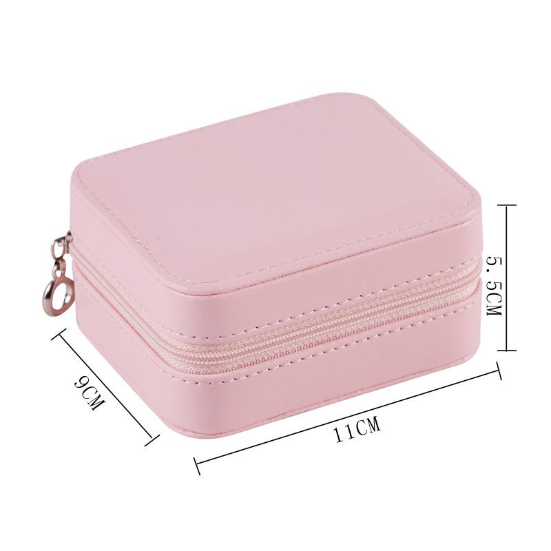 Caja-de-Almacenamiento-de-Joyas-de-PU-de-una-Sola-Capa-de-Cuero-Pendientes-Q3M9 miniatura 14