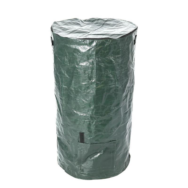 Bio-Abfall-KueChen-Garten-Hof-Kompost-Beutel-Umwelt-PE-Tuch-Pflanzgefaess-KueCh-B5K9 Indexbild 3