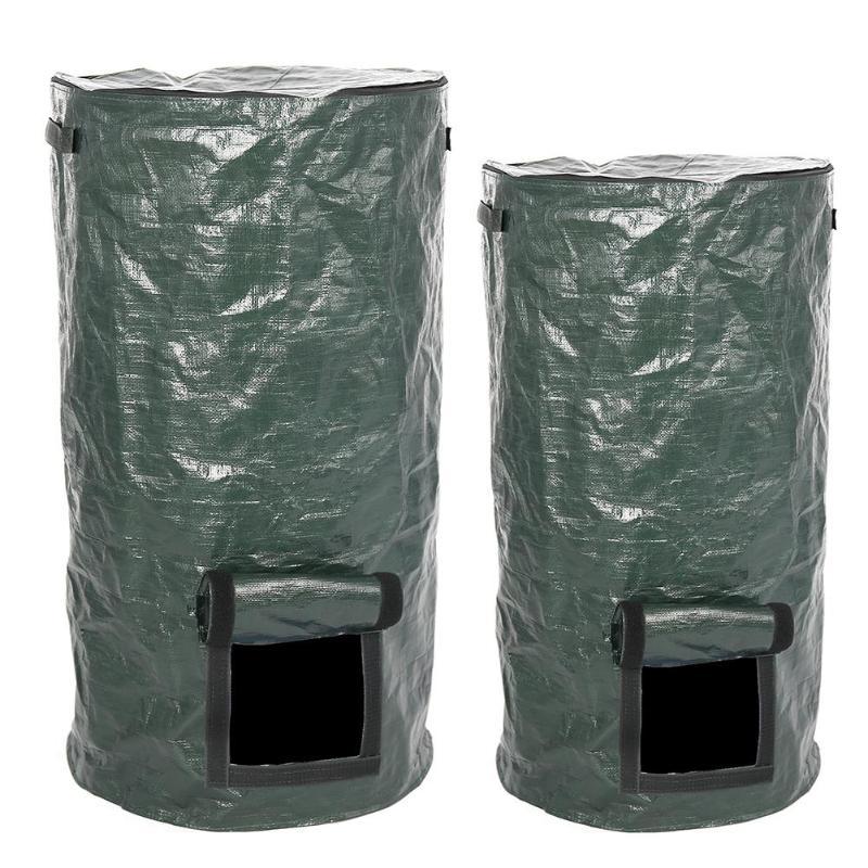 Bio-Abfall-KueChen-Garten-Hof-Kompost-Beutel-Umwelt-PE-Tuch-Pflanzgefaess-KueCh-B5K9 Indexbild 4