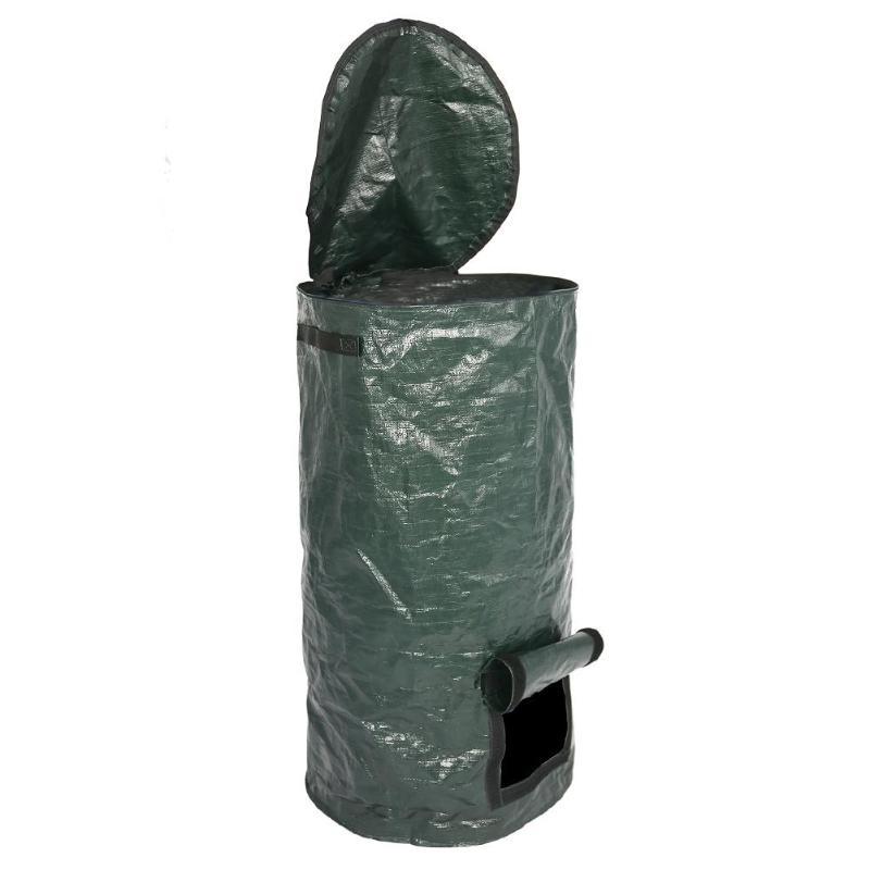 Bio-Abfall-KueChen-Garten-Hof-Kompost-Beutel-Umwelt-PE-Tuch-Pflanzgefaess-KueCh-B5K9 Indexbild 5