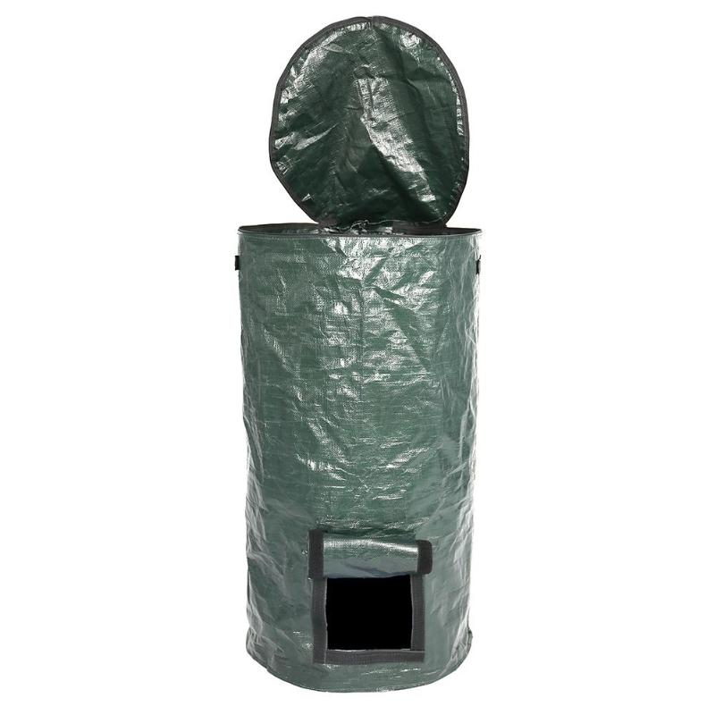 Bio-Abfall-KueChen-Garten-Hof-Kompost-Beutel-Umwelt-PE-Tuch-Pflanzgefaess-KueCh-B5K9 Indexbild 6
