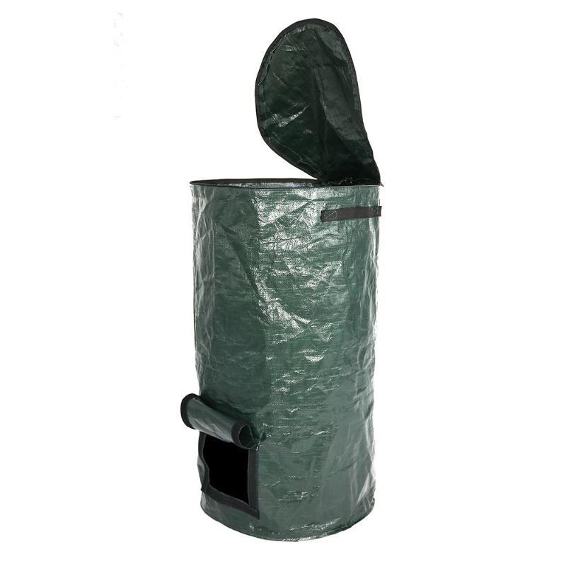 Bio-Abfall-KueChen-Garten-Hof-Kompost-Beutel-Umwelt-PE-Tuch-Pflanzgefaess-KueCh-B5K9 Indexbild 9