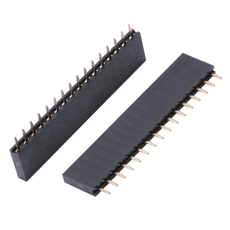 einfach Pinleiste 2,54mm weiblich 10 Stück 40-Pin Stiftleiste