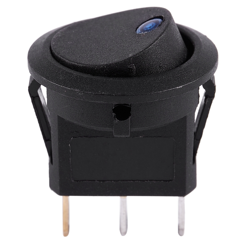 thumbnail 5 - 12V-LED-Inverter-Rocking-Rocker-Switch-ROUND-SPST-ON-OFF-for-BOAT-Car-Q4I3