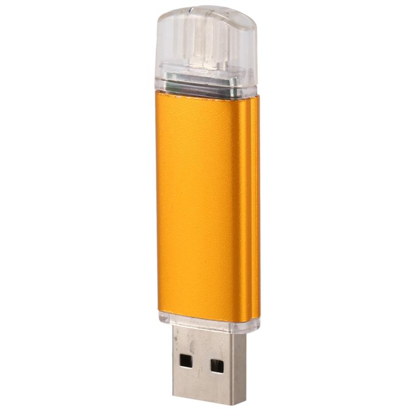 Memoria-16GB-USB-Unidad-OTG-mini-USB-Unidad-de-flash-para-ordenador-O2A5 miniatura 7