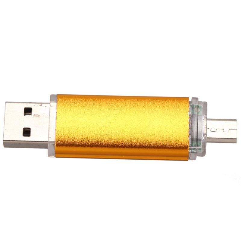 Memoria-16GB-USB-Unidad-OTG-mini-USB-Unidad-de-flash-para-ordenador-O2A5 miniatura 11