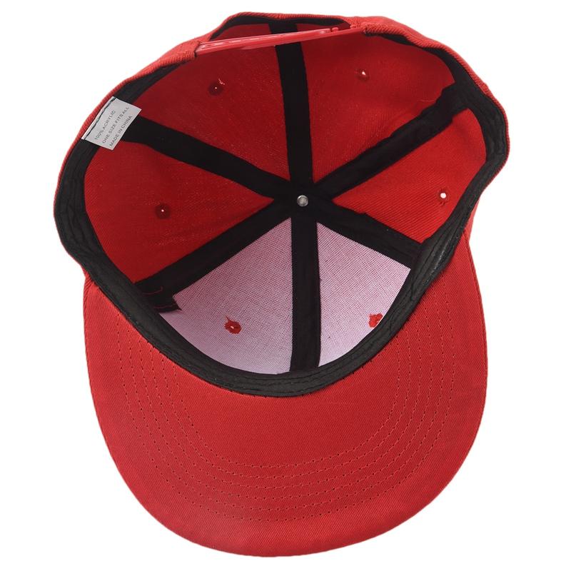miniature 24 - Casquette de Base-ball a bords plats simple du style de Hip-Hop Casquette A T9K2