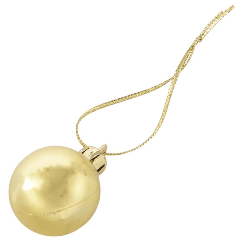 24Pcs-Chic-Christmas-Baubles-Tree-Plain-Glitter-XMAS-Ornament-Ball-Decorati-L5V3 thumbnail 13