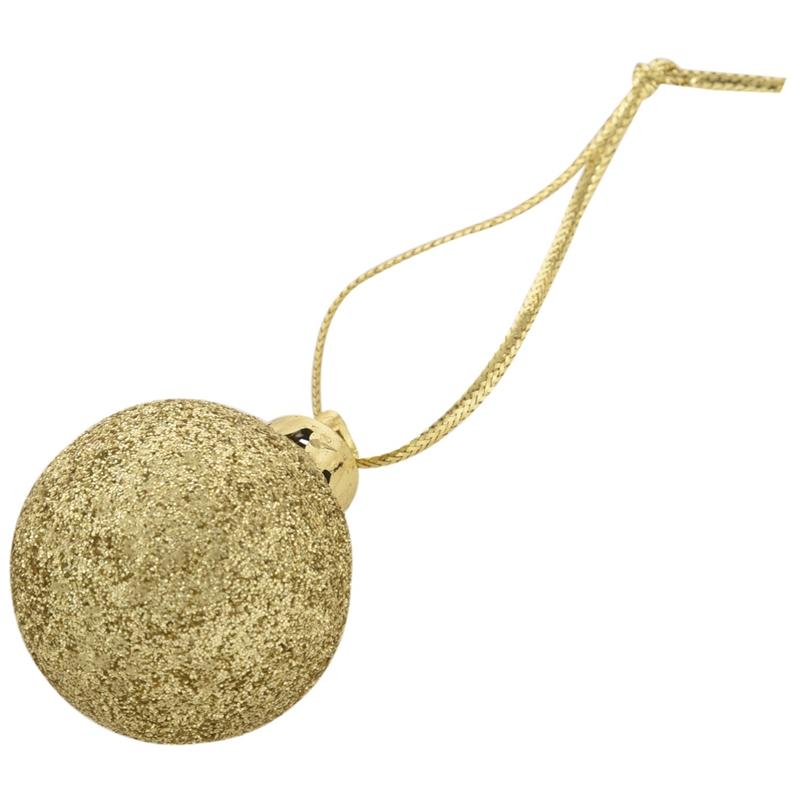 24Pcs-Chic-Christmas-Baubles-Tree-Plain-Glitter-XMAS-Ornament-Ball-Decorati-L5V3 thumbnail 17