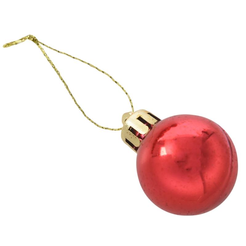 24Pcs-Chic-Christmas-Baubles-Tree-Plain-Glitter-XMAS-Ornament-Ball-Decorati-L5V3 thumbnail 31