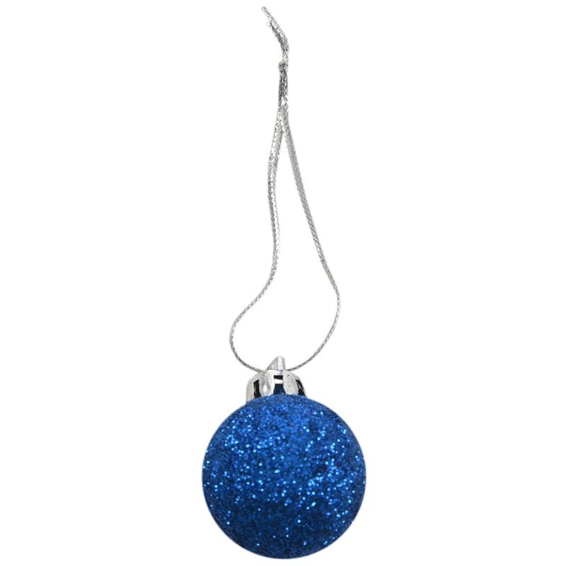 24Pcs-Chic-Christmas-Baubles-Tree-Plain-Glitter-XMAS-Ornament-Ball-Decorati-L5V3 thumbnail 36