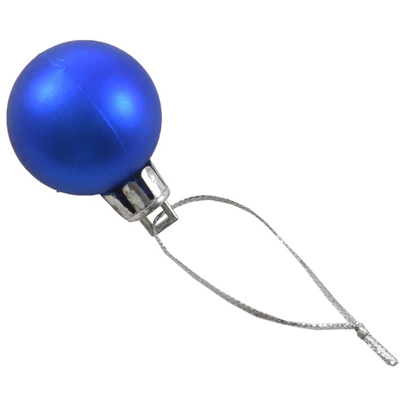 24Pcs-Chic-Christmas-Baubles-Tree-Plain-Glitter-XMAS-Ornament-Ball-Decorati-L5V3 thumbnail 39