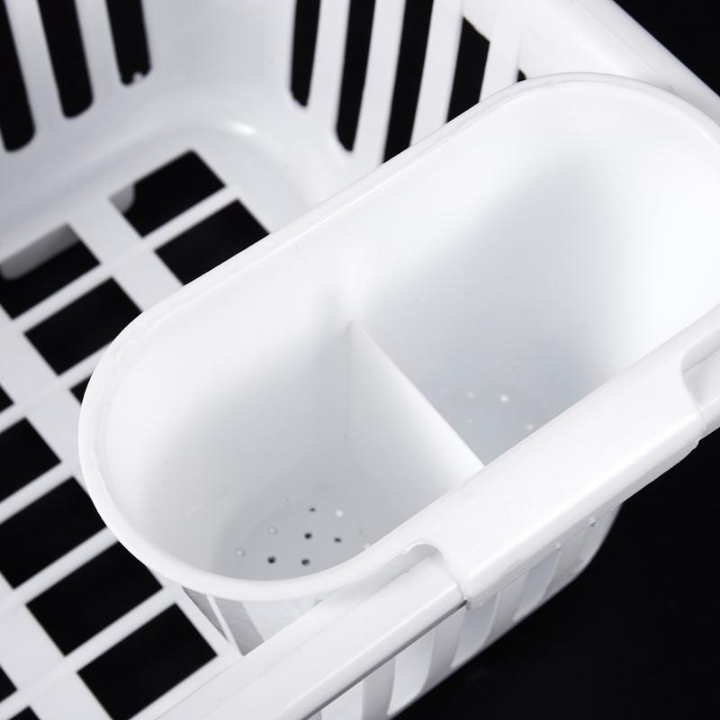 Kitchen-Sink-Dish-Plate-Utensil-Drainer-Drying-Rack-Holder-Basket-Z9V3 thumbnail 17