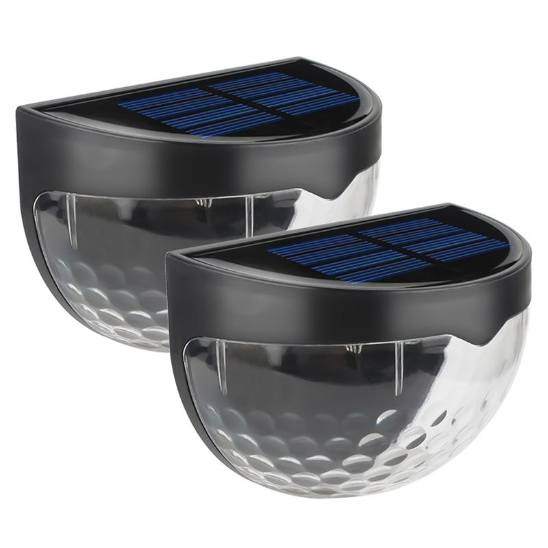6-LED-Solaire-LumieRe-de-Jardin-CloTure-eTanche-Jardin-Lampe-de-Mur-Auto-Ona-P1I miniature 13