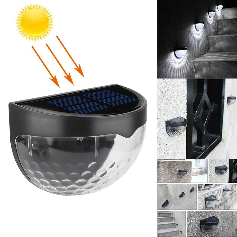 6-LED-Solaire-LumieRe-de-Jardin-CloTure-eTanche-Jardin-Lampe-de-Mur-Auto-Ona-P1I miniature 14