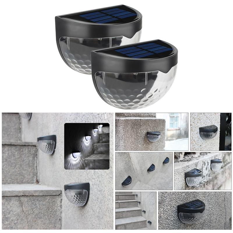 6-LED-Solaire-LumieRe-de-Jardin-CloTure-eTanche-Jardin-Lampe-de-Mur-Auto-Ona-P1I miniature 15