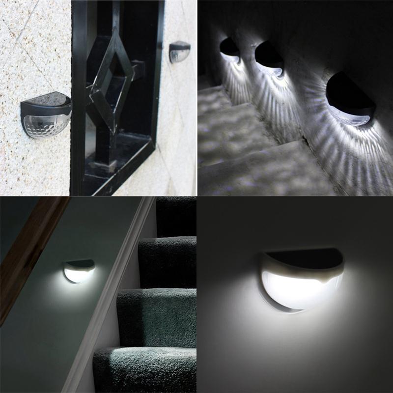 6-LED-Solaire-LumieRe-de-Jardin-CloTure-eTanche-Jardin-Lampe-de-Mur-Auto-Ona-P1I miniature 17