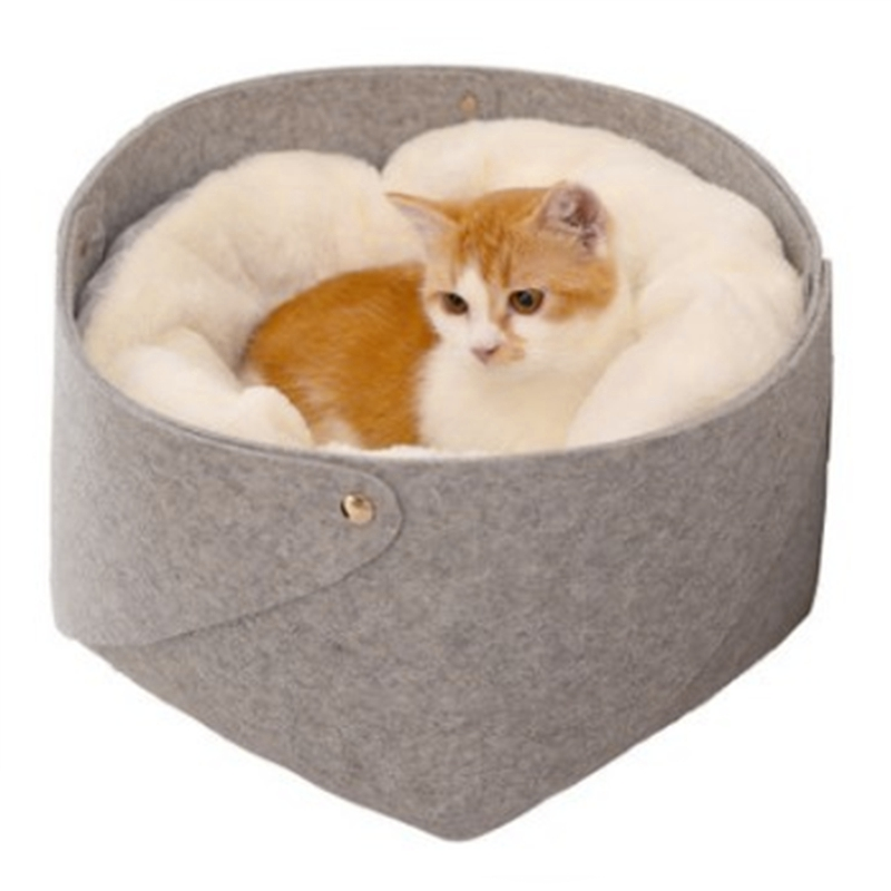 Cat-Basket-Pet-Dog-Bed-for-Cat-Warm-Bed-Dogs-Houses-for-Cats-Pets-Products-J1A8 thumbnail 9