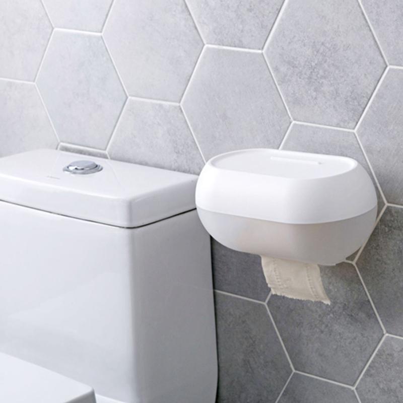 Toilette-BoiTe-a-Mouchoirs-eTanche-PoincOnnage-Mural-Gratuit-Salle-de-Bains-U3S5 miniature 5