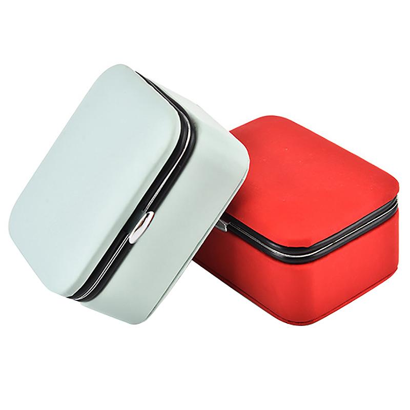 Reisen-Schmuck-Verpackung-Box-Kosmetik-Make-Up-Veranstalter-Schmuck-Box-Ohr-G3J1 Indexbild 9