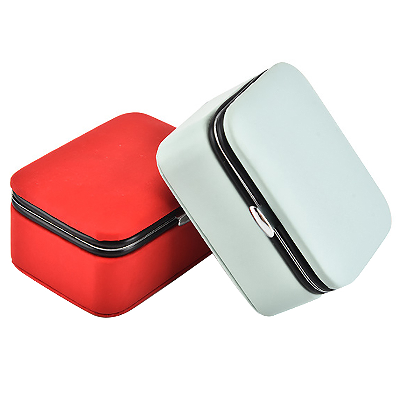 Reisen-Schmuck-Verpackung-Box-Kosmetik-Make-Up-Veranstalter-Schmuck-Box-Ohr-G3J1 Indexbild 10