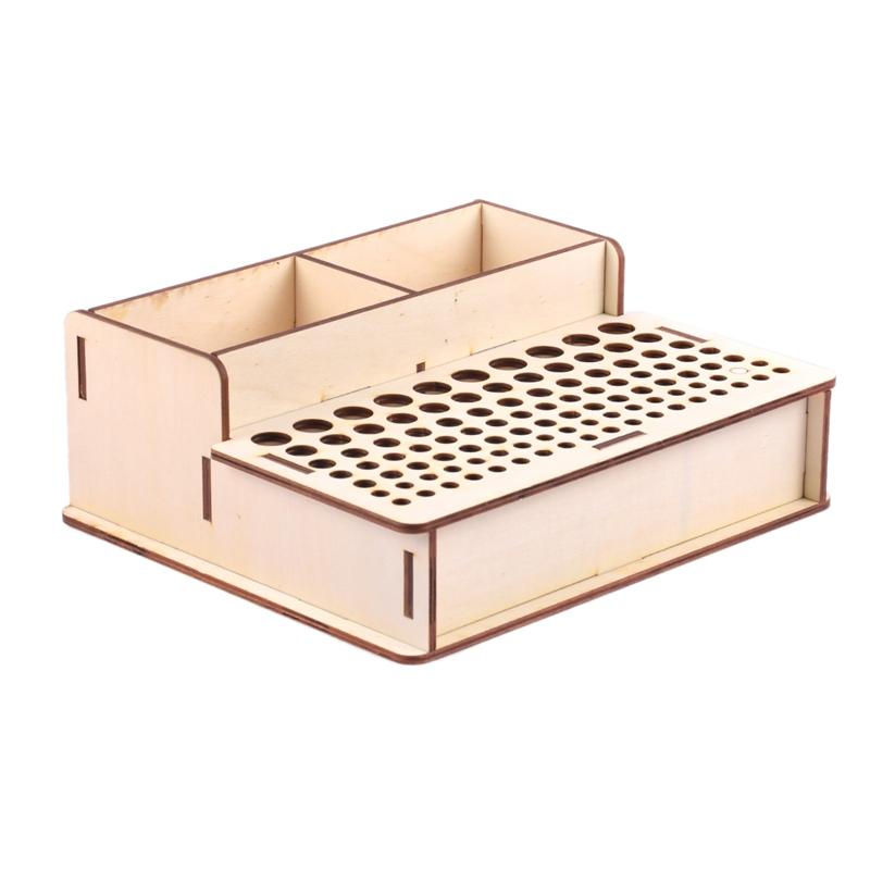 DIY-Herramientas-de-ArtesaniA-de-Cuero-de-Madera-Soporte-de-Bastidor-Soport-X9P8 miniatura 5