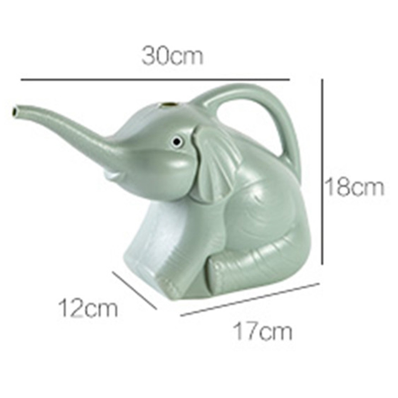 Plastic-Garden-Elephant-Watering-Can-Gardening-Tools-Plant-Flower-Pot-Outdo-D8A6 thumbnail 3