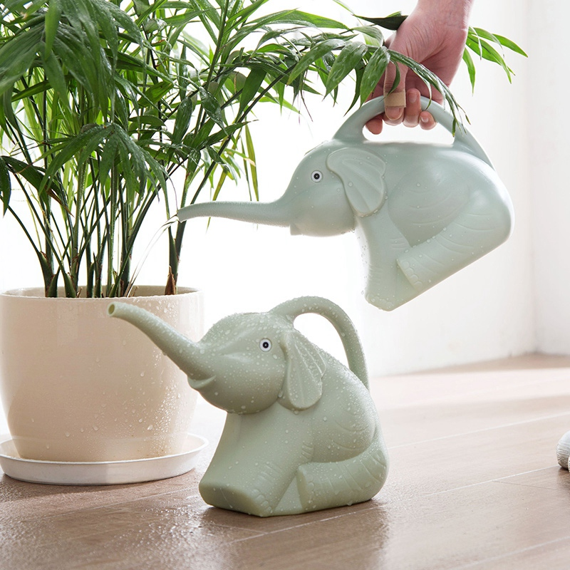 Plastic-Garden-Elephant-Watering-Can-Gardening-Tools-Plant-Flower-Pot-Outdo-D8A6 thumbnail 4