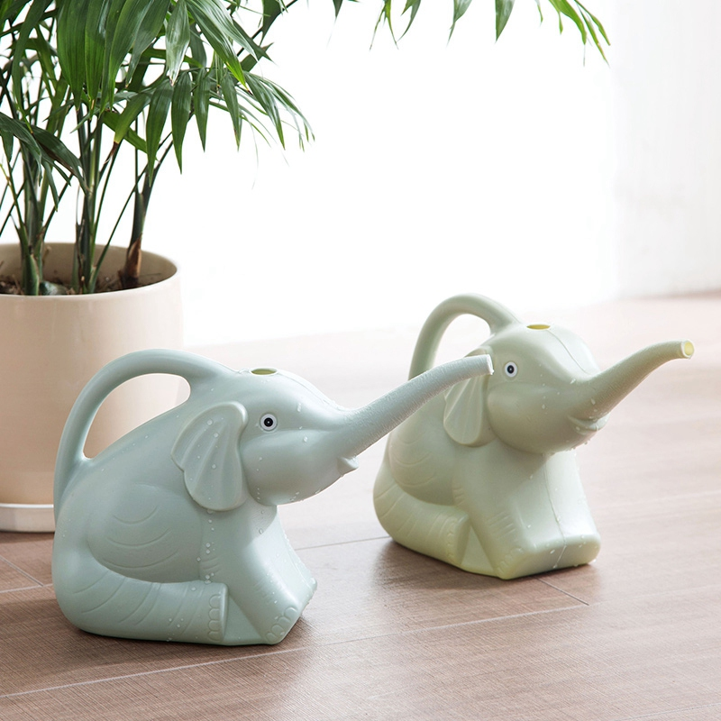 Plastic-Garden-Elephant-Watering-Can-Gardening-Tools-Plant-Flower-Pot-Outdo-D8A6 thumbnail 5