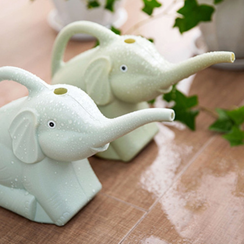 Plastic-Garden-Elephant-Watering-Can-Gardening-Tools-Plant-Flower-Pot-Outdo-D8A6 thumbnail 9