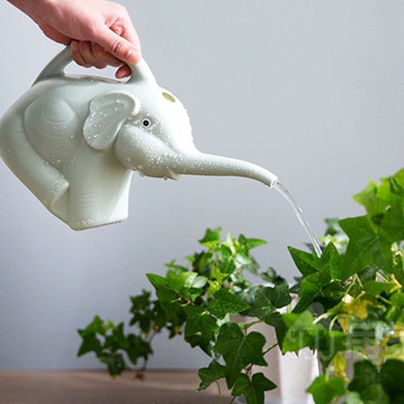 Plastic-Garden-Elephant-Watering-Can-Gardening-Tools-Plant-Flower-Pot-Outdo-D8A6 thumbnail 10