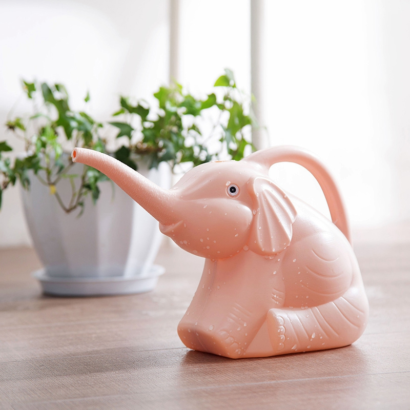 Plastic-Garden-Elephant-Watering-Can-Gardening-Tools-Plant-Flower-Pot-Outdo-D8A6 thumbnail 24