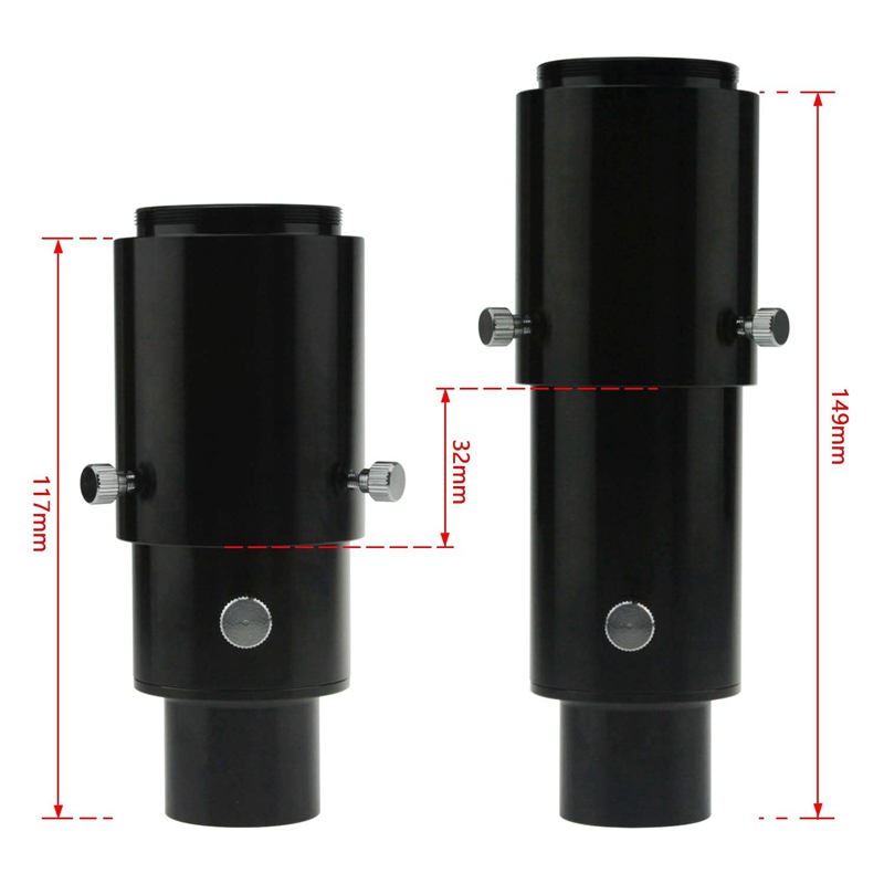 1.25 Inch Variable Projection DSLR Camera Adapter Telescope Eyepiece Access T9U5 2