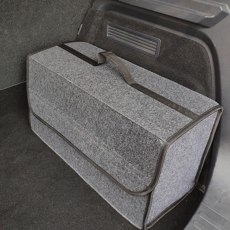 Organizador-de-coche-plegable-de-fieltro-suave-Caja-de-herramientas-de-vehi-J6M5 miniatura 2