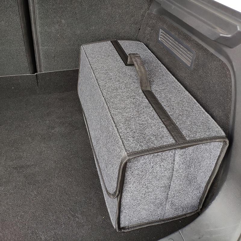 Organizador-de-coche-plegable-de-fieltro-suave-Caja-de-herramientas-de-vehi-J6M5 miniatura 3