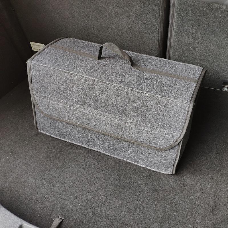 Organizador-de-coche-plegable-de-fieltro-suave-Caja-de-herramientas-de-vehi-J6M5 miniatura 7