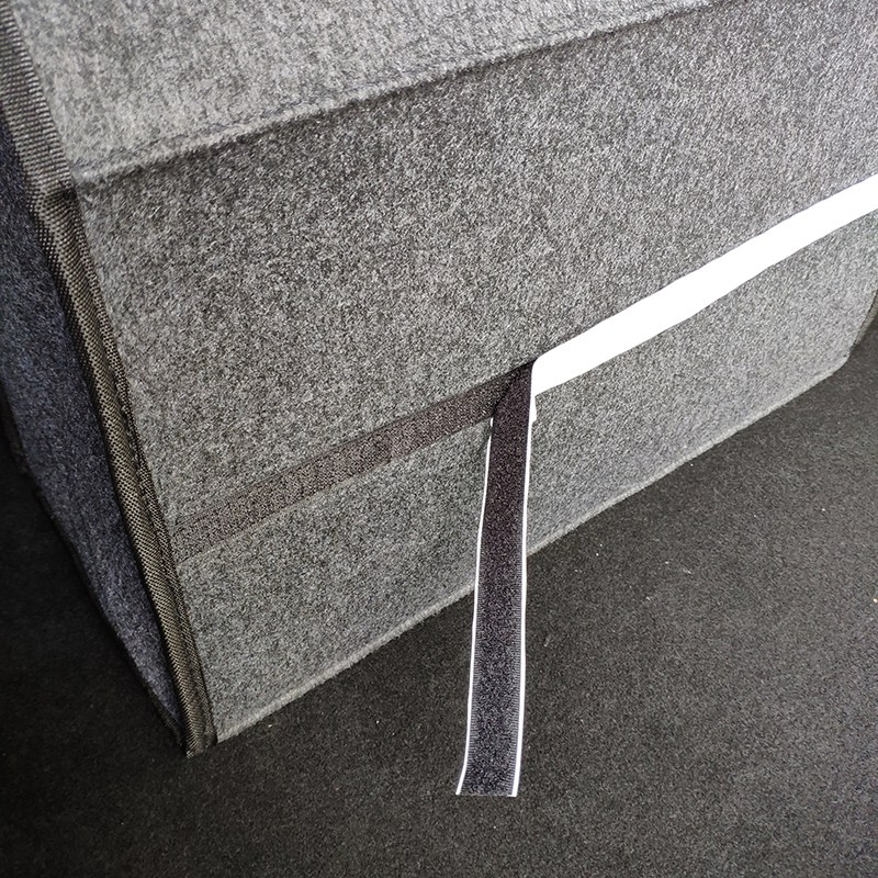 Organizador-de-coche-plegable-de-fieltro-suave-Caja-de-herramientas-de-vehi-J6M5 miniatura 8