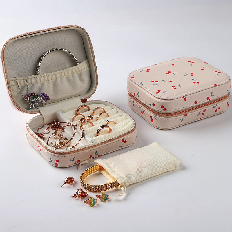 Portable-Jewelry-Box-Zipper-Storage-Organizer-Jewelry-Holder-Packaging-Disp-Z4O6 thumbnail 13
