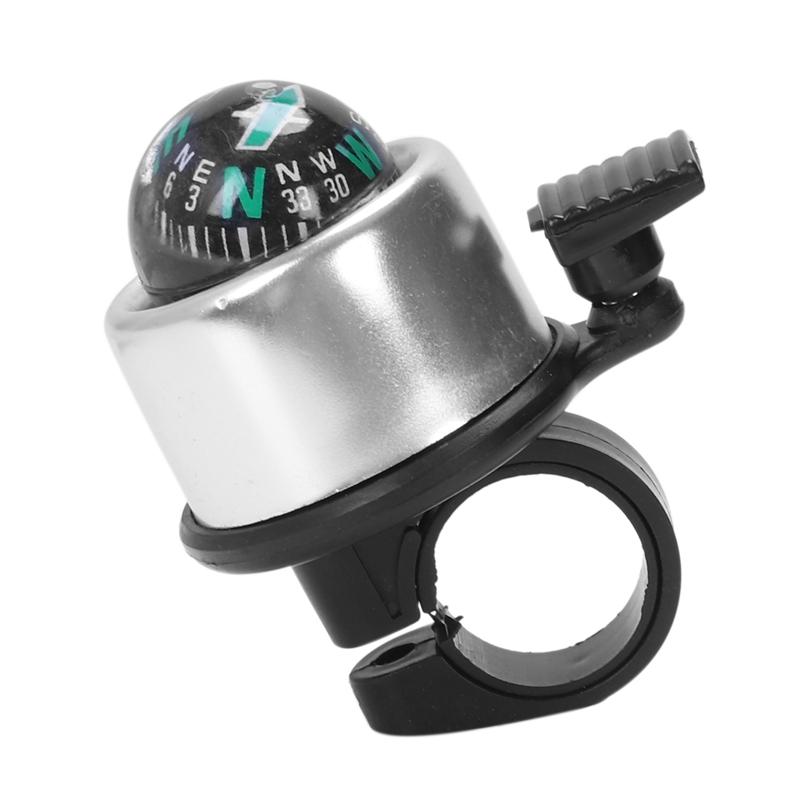 R Sonnette de velo cloche de Velo avec boussole cloche boussole Sonnette de velo SODIAL