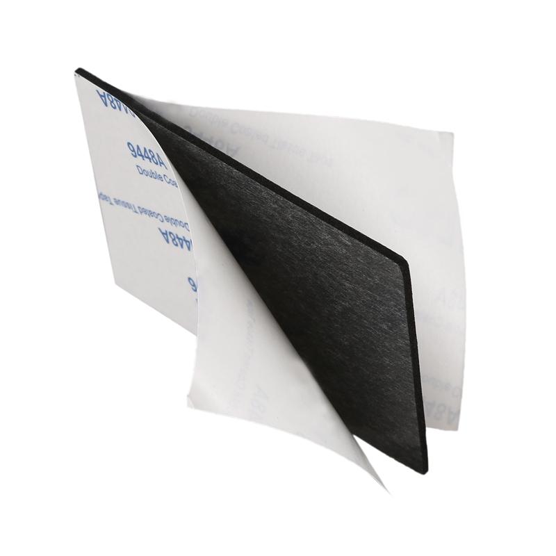 3M stark Doppelt Seite Auto Sticker Pads Montagekleber 5 Stueck schwarz H7I3