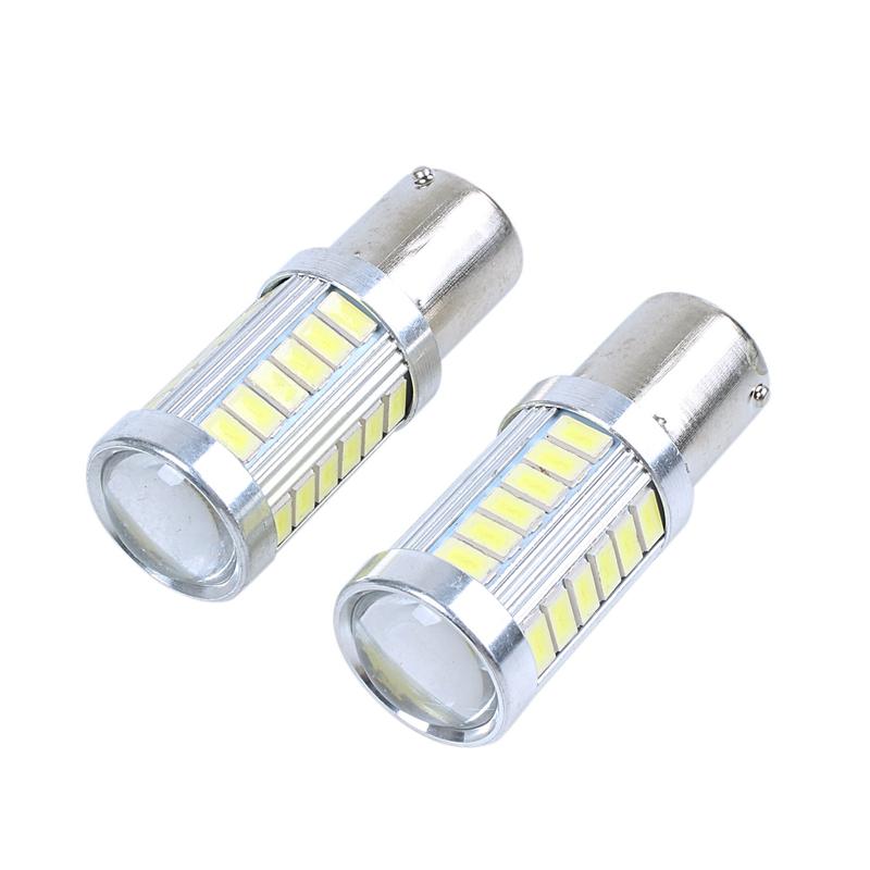 1156 Ba15S P21W Lampadina A Led 3030 35Smd Canbus Lampada A Led Per Luci Di L4U3